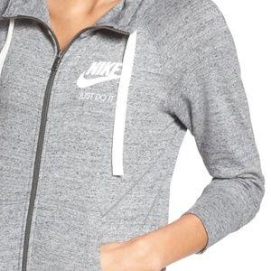 Nike Sportswear Gym Vintage hoodie grey M
